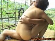 chisato shouda oriental older chick gets