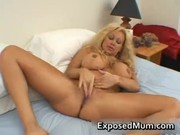 giant love bubbles mom in thong fingering her