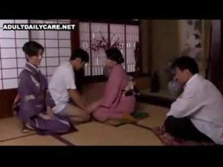 japanese wife eats his jock and rides it is as