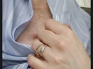 british wife gives fleshly stroke and engulf to