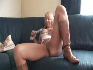 busty blonde d like to fuck uses a marital-device