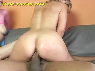 these breasty blondes are getting drilled by one