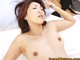 lustful japanese aged sweethearts engulfing part10