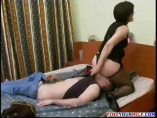 hose russian mama and lad