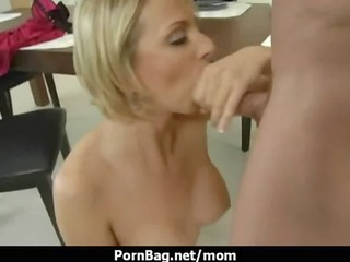 large scoops mommy acquires hard penis 4