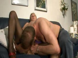 jacky is a short-haired granny milf tramp who
