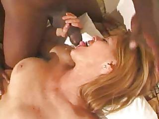 sexy mother i enjoys an interracial team fuck
