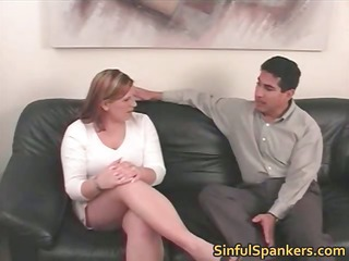sexy bitch was being naughty and getting
