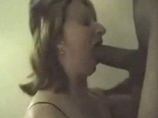 bitch wife engulfing big black shlong swallows