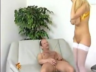 golden-haired mamma bonks like a whore in heat