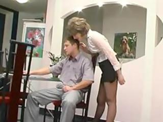 hose granny acquires oral pleasure mature aged