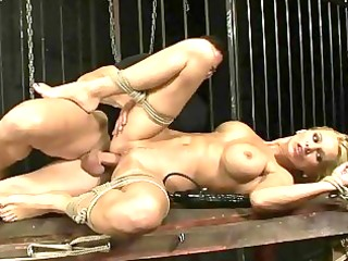 busty d like to fuck gets bondaged and screwed