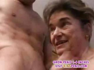 ancient hairy granny in nylons fingered engulf