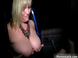 large pantoons mom receives overspread in cum