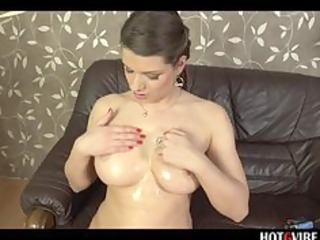 squirting euro pornstar overspread in oil