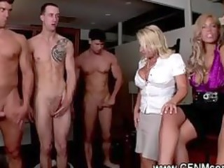 excited milfs engulf fest