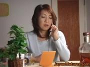 horny japanese aged babes sucking