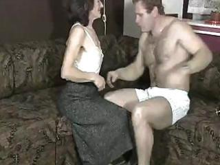 homemade sex movie scene from a older slut with