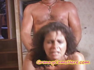 grannies acquire fucked and cum covered on yacht