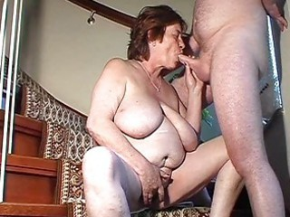 bulky dilettante wife toys and sucks and receives