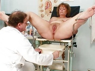 bushy fat mommy acquires harrassed by gynecologist