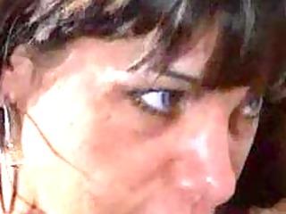 italian breasty milf sonia eyes in a threesome
