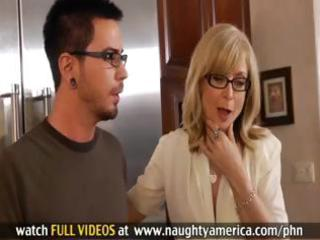 hawt d like to fuck nina hartley sucks on his