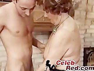 granny fuck youthful guygranny