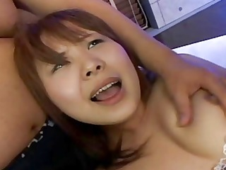 shapely japanese girl gets biggest multi-creampie