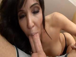 this good looking mamma loves engulfing the cock