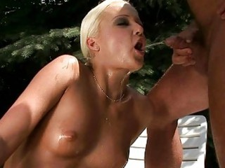 granddad fucking and pissing on young blonde