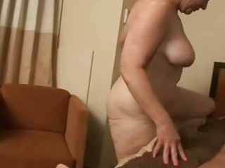 horny granny rides a cock unfathomable in her wet