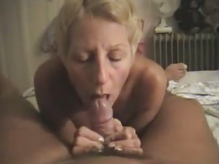 nudist filming his wife giving him a oral job at