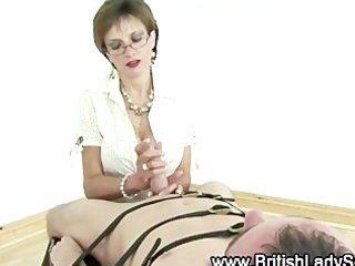 wicked femdom aged british hottie