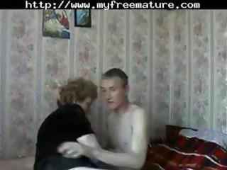 mature russian mommy acquires a juvenile chap to