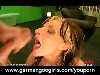 d like to fuck takes cum in throat and pussy