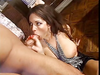 wicked brunette hair doxy loves a hard fuck