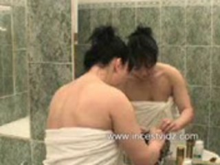 mommy and sons shower sex