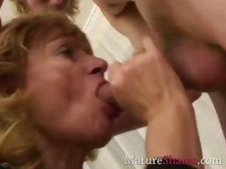 unfathomable face hole hawt granny