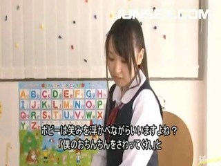 japanese schoolgirl sucks dick and has a mouth