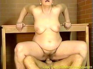 hirsute mamma t live without cum