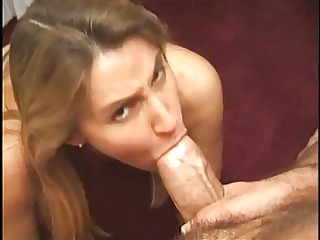 Needy cougar gets face fucked by thick cock and
