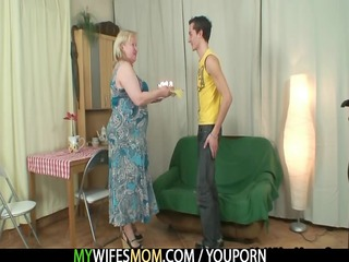 lascivious granny seduces her son in law