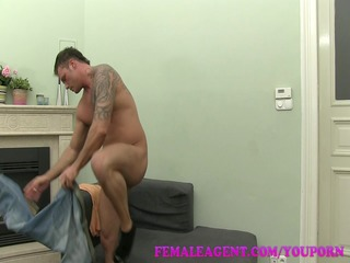 femaleagent. well hung fellow decorates my butt