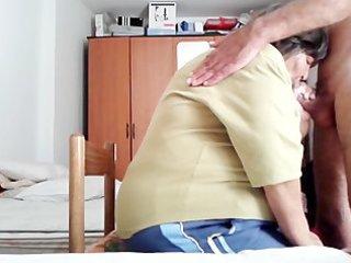 my granny ally sucks my cock