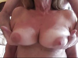 breasty aged martiddds: natural large wobblers