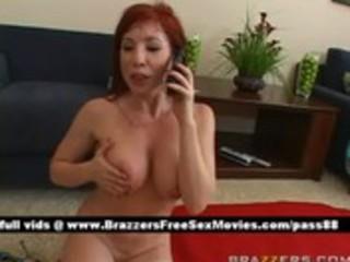 older undressed redhead hottie on the floor