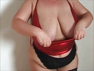 big breasty milf nylons