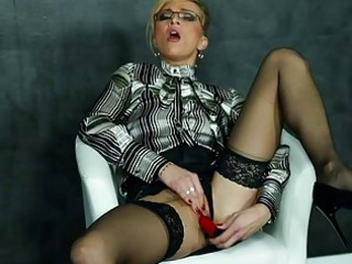 masturbating mother i in blouse and highheels