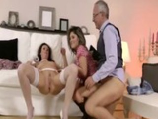 wicked older nylons bitch acquires screwed